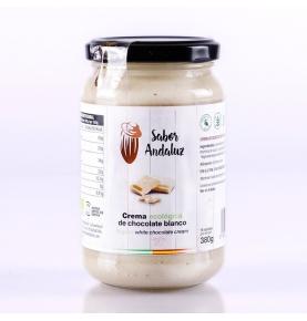 Crema de chocolate blanco bio, Sabor Andaluz (380g)  de Chocolates La Virgitana - Sabor Andaluz