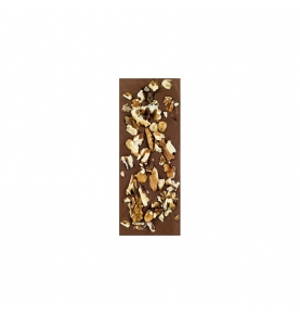 Chocolate con leche y nueces bio, Sabor Andaluz (100g)  de Chocolates La Virgitana - Sabor Andaluz