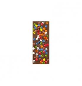 Chocolate con leche y grajeas de colores bio, Sabor Andaluz (100g)  de Chocolates La Virgitana - Sabor Andaluz
