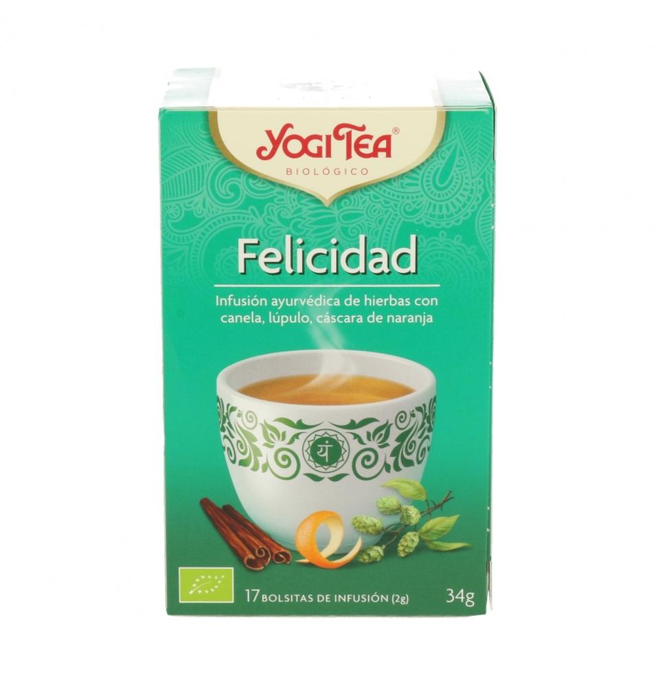 Infusión Felicidad Bio, Yogi Tea (17bolsas)  de YOGI TEA®
