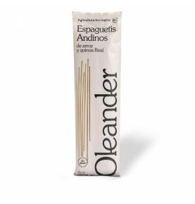 Espaguetis de arroz y quinoa real sin gluten bio, Oleander (250g)  de Oleander Bio
