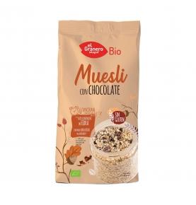 Muesli con chocolate sin gluten bio, El Granero (375g)  de El Granero Integral