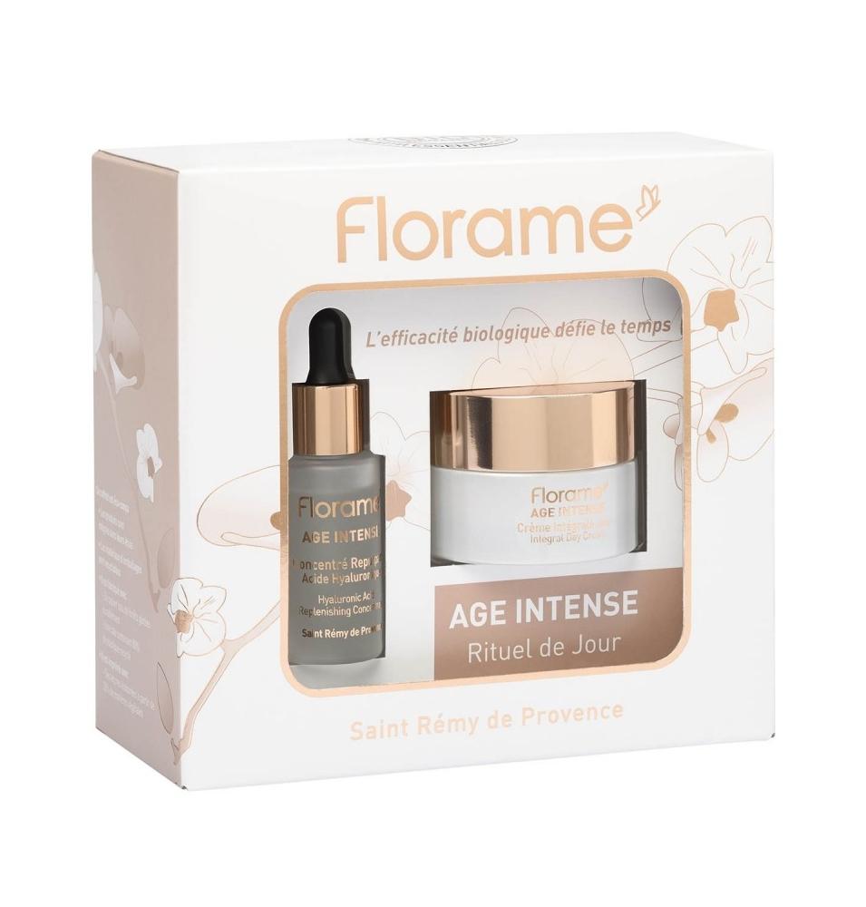 Pack Crema de día y Sérum redensificante ácido hialurónico Age Intense Bio, Florame  de Florame