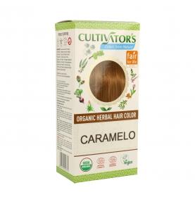 Tinte vegetal Caramelo bio, Cultivators (100g)  de CULTIVATORS