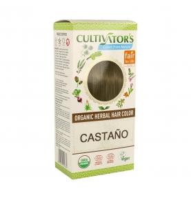 Tinte vegetal Castaño bio, Cultivators (100g)  de CULTIVATORS