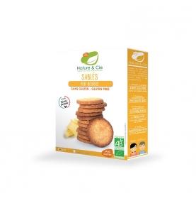 Galletas de mantequilla sin gluten bio, Nature & Cie (135g)  de Nature & Cie