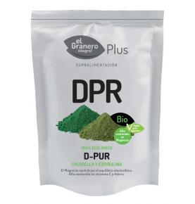 D-Pur (Chlorella y Spirulina) Bio, El Granero Integral (200g)  de El Granero Integral