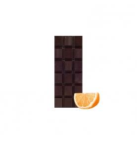 Chocolate Negro 74% Cacao con naranja bio, Sabor Andaluz (100g)  de Chocolates La Virgitana - Sabor Andaluz