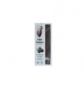 Chocolate Negro 74% Cacao con mora bio, Sabor Andaluz (100g)  de Chocolates La Virgitana - Sabor Andaluz