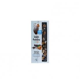 Tableta de Algarroba con nueces sin azúcar bio, Sabor Andaluz (100g)  de Chocolates La Virgitana - Sabor Andaluz