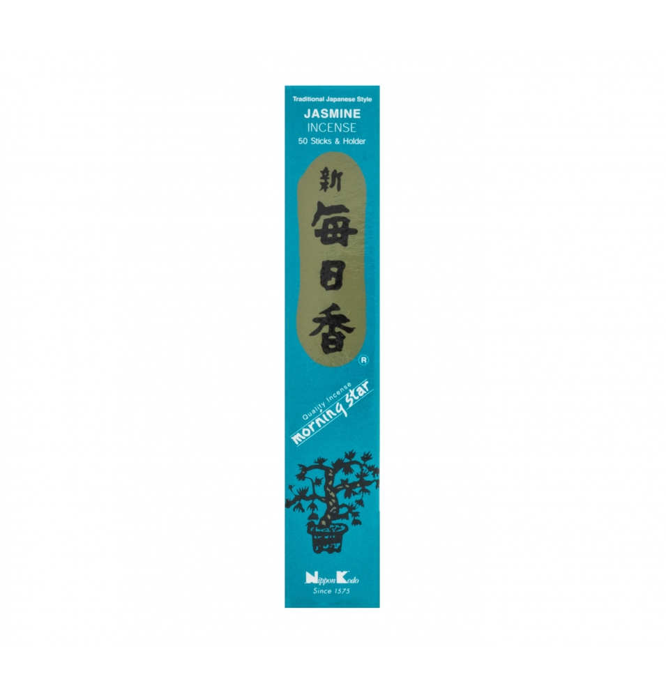Incienso Japonés Morning Star Jazmin, Nippon Kodo ( 20g)  de Nippon Kodo