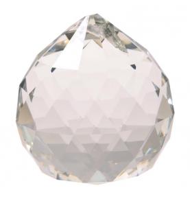 Cristal Arco Iris Bola Transparente Grande (6.8cm)  de