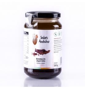 Crema de algarroba bio, Sabor Andaluz (380g)  de Chocolates La Virgitana - Sabor Andaluz