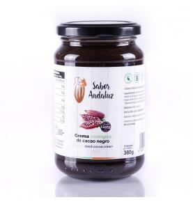 Crema de cacao negro bio, Sabor Andaluz (380g)  de Chocolates La Virgitana - Sabor Andaluz
