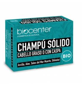 Champú Sólido Cabello Graso o con Caspa Bio, Biocenter (100g)  de Biocenter