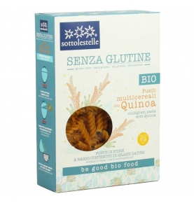 Fusilli Multicereal con Quinoa Sin Gluten Bio, Sottolestelle (340g)  de Sottolestelle