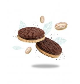 Galletas Biotwins Double Crema de Cacao Sin Gluten Bio, Sottolestelle (125g)  de Sottolestelle