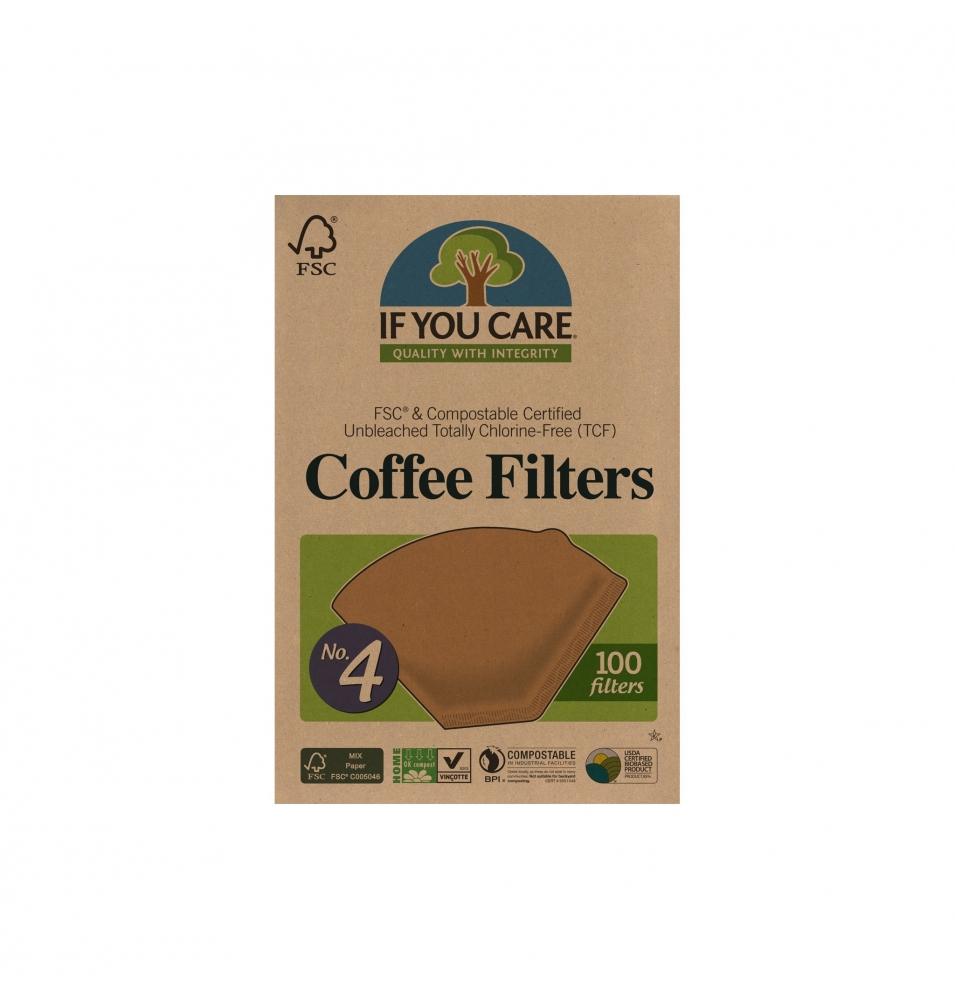 Filtros de café nº4, If you care (100 unidades)  de If You Care