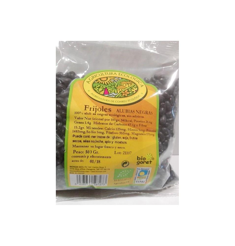 Frijoles Alubias Negras Bio, Biogoret (500g)  de BIOGORET