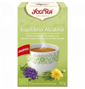 Infusión Equilibrio Alcalino Bio, Yogi Tea (17bolsas)  de YOGI TEA®