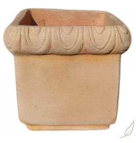 Maceta cuadrada Quadro PITTI, Deroma (18cm)  de