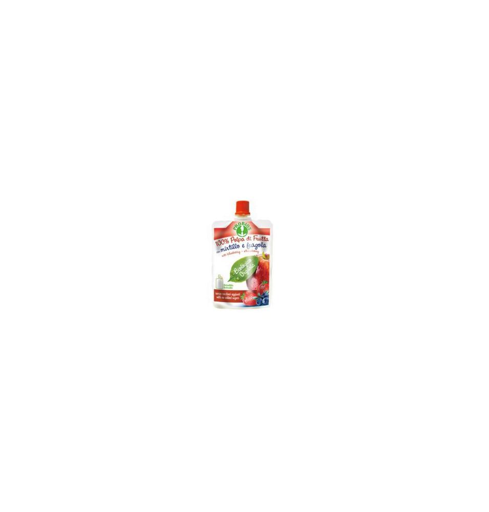Doypack manzana,arándano y fresa Bio, ProBios (100g)  de ProBios