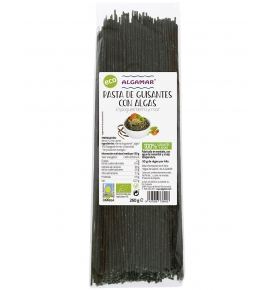Espagueti de Guisantes con Espagueti de mar y Espirulina Bio, Algamar (250g)  de Algamar