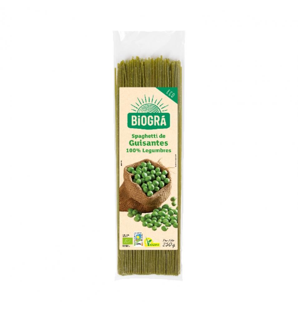 Espagueti de Guisantes Bio, Biogra (250g)  de Biográ