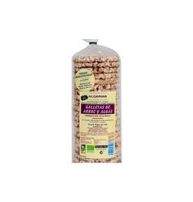 Tortitas de arroz y algas Bio, Algamar (140g)  de Algamar