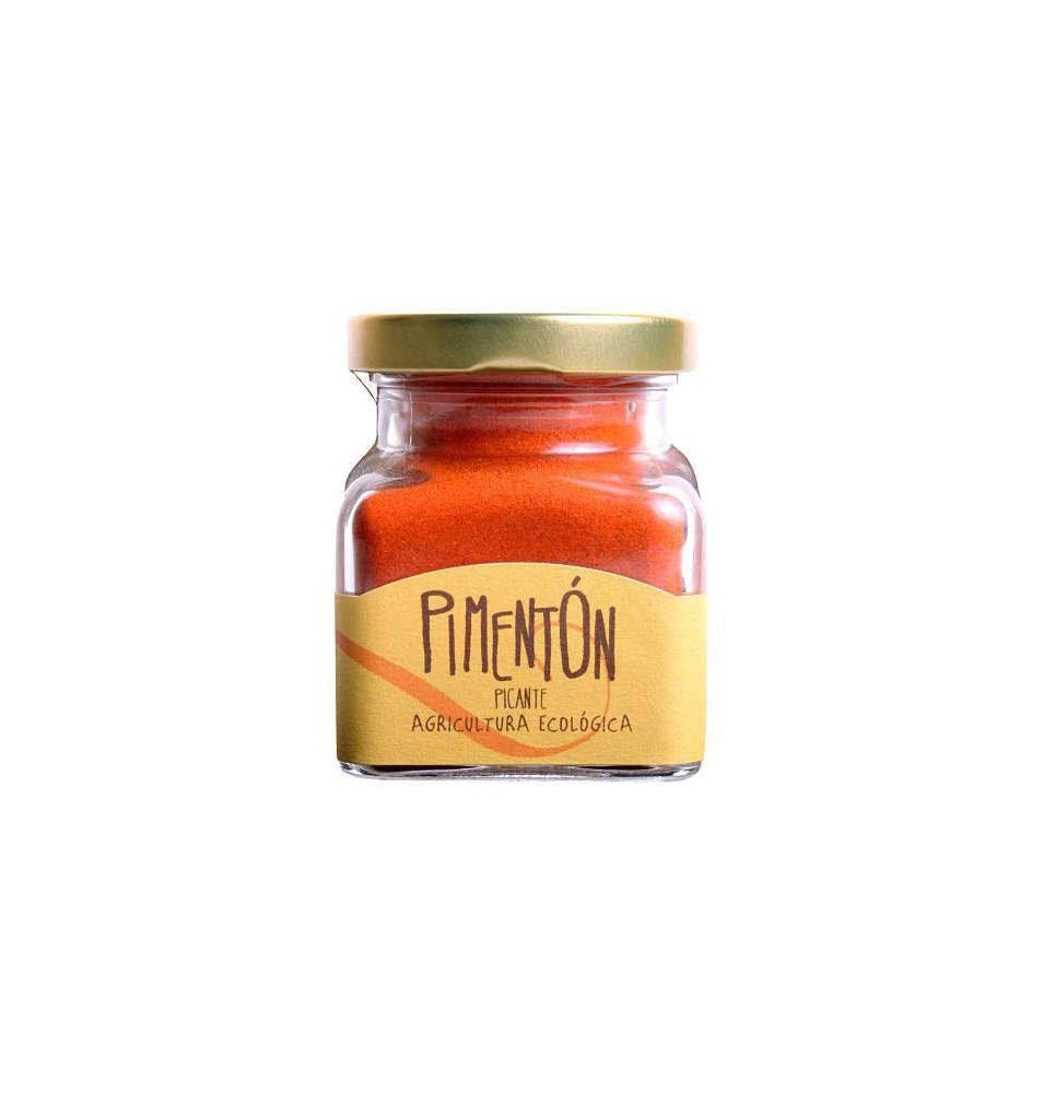 Pimentón picante ecológico, Orballo (50g)  de Orballo