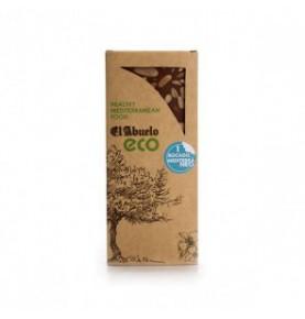 Turrón de chocolate con almendras bio el Abuelo (200g)  de EL ABUELO
