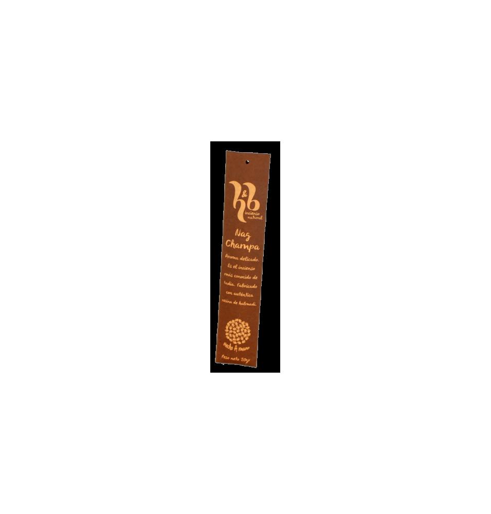 Incienso natural de Nag Champa H&B Incense (20g)  de H&B Incense