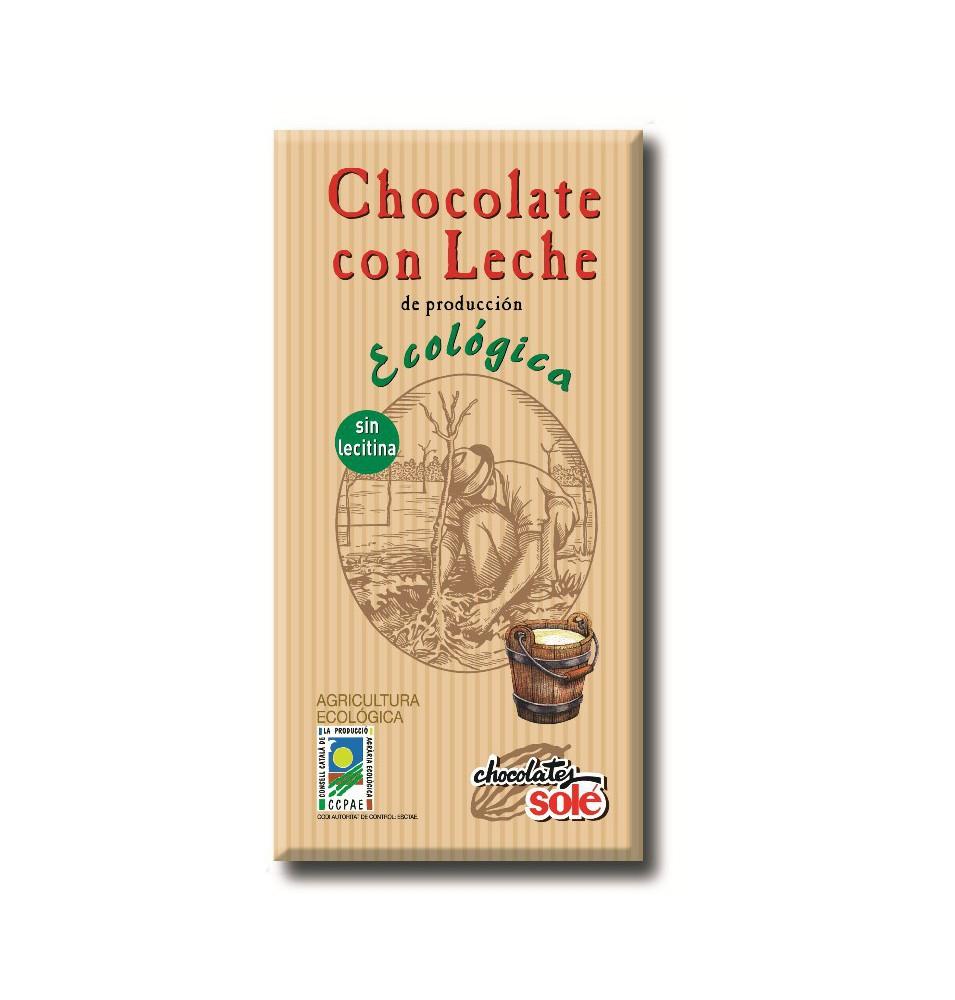 Chocolate con Leche Eco Sole (100g)  de Chocolates Solé