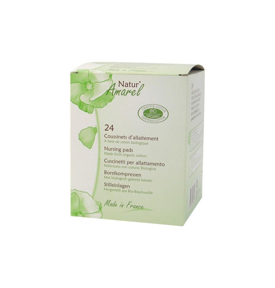 Discos de lactancia Bio, Natur Amarel ( 24ud)  de