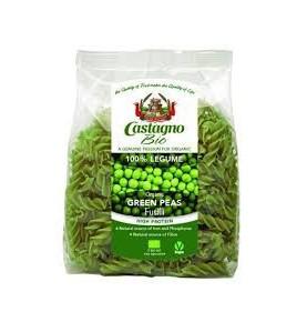 Espirales guisante verde Bio, Castagno (250g)  de Castagno Bruno