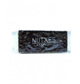 Turrón choco negro 70% Almendra Bio, Nutxes (200g)  de