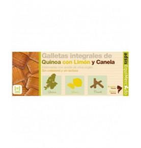 Galletas integrales de avena y quinoa con limón y canela bio, Equimercado (125g)  de EquiMercado