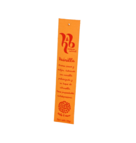 Incienso natural de vainilla, H&B Incense (20g)  de H&B Incense