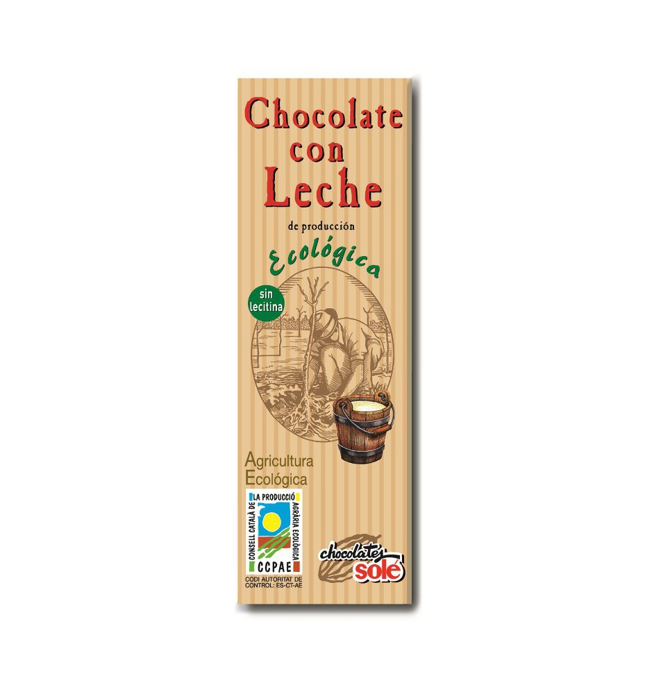 Chocolatinas Leche Eco, Sole (25g)  de Chocolates Solé