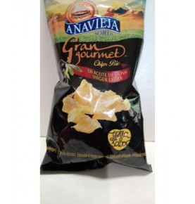 Patatas fritas aceite de oliva Eco, Añavieja (125g)  de Añavieja