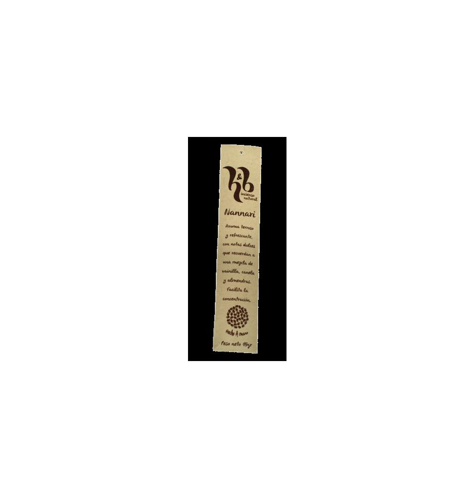 Incienso de Nannari, H&B Incense (15g)  de H&B Incense