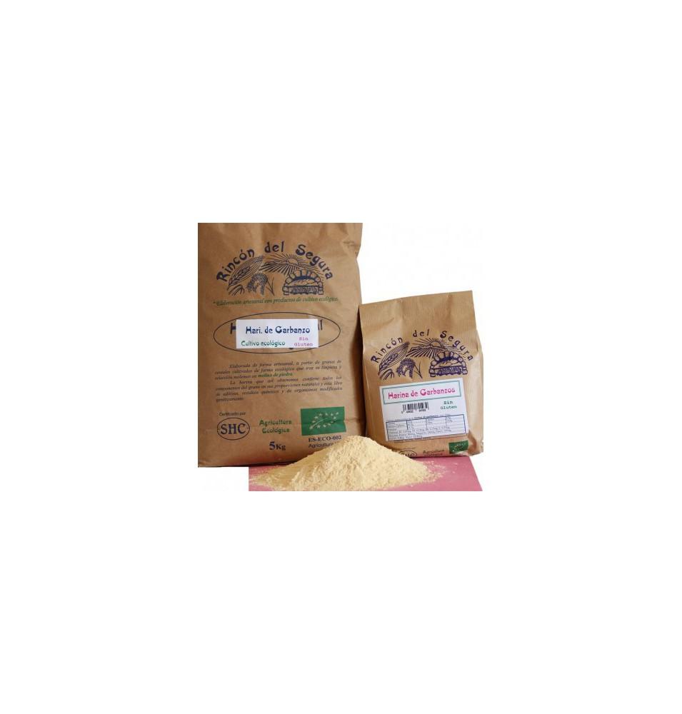 Harina integral de Garbanzos Sin Gluten Bio Rincón de Segura(1 kg)  de Rincón del Segura