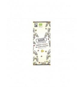 Tableta ecológica crudivegana cacao y lúcuma, Rawr (60g)  de RAWR