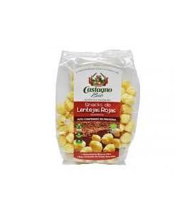 Snacks Maíz-Lentejas Roja Eco, Castagno  de Castagno Bruno