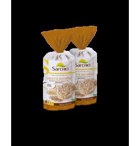 Tortitas de cereales sin gluten Bio, Sarchio (100g)  de Sarchio