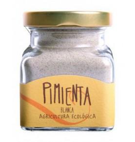 Pimienta blanca molida ecológica, Orballo (60g)  de Orballo