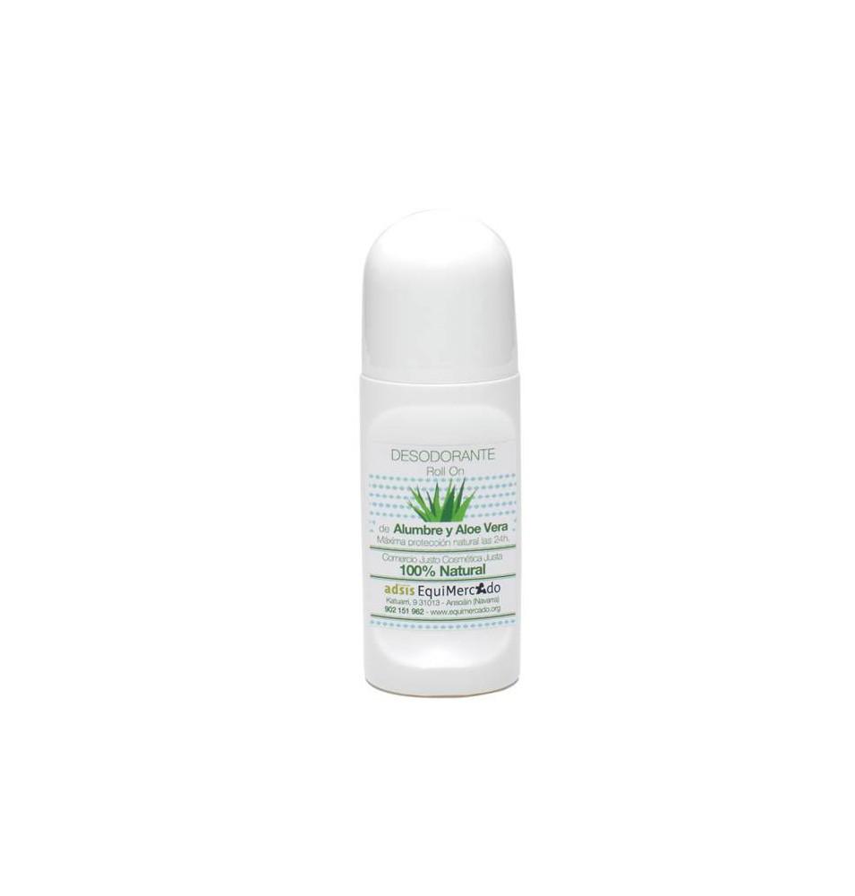 Desodorante con alumbre y aloe vera Bio, Equimercado (50ml)  de EquiMercado