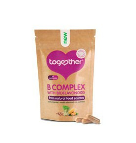 B Complex + Vitamina C y Bioflavonoides, Together (30cap)  de Together