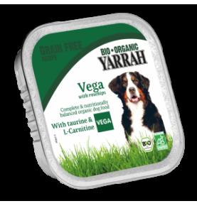 Trocitos de pollo y verduras para perros bio Yarrah (150g)  de Yarrah