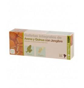 Galletas integrales de avena y quinoa con Jengibre bio, Equimercado  de EquiMercado